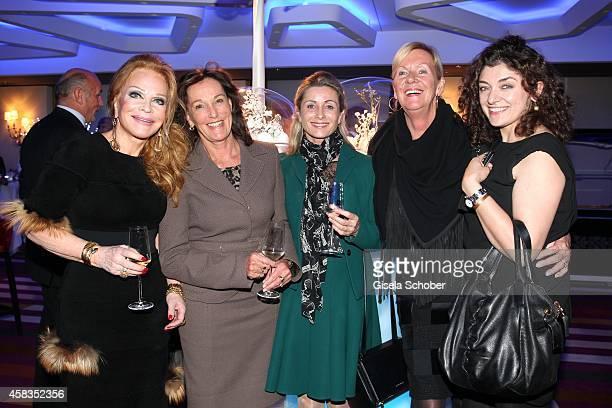 Ulrike Huebner Dr Constanze NeuhannLorenz Uta Bueschl Claudia Graus director Unicef Painter Nahid Shahalimi attend the 'Haute Couture Connection'...