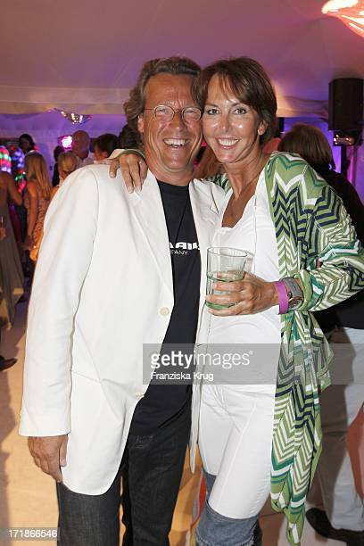 "Ulrike Krages And Dirk von Haeften In The ""Sylt Meets Ibiza"" Party In Pony Kampen"