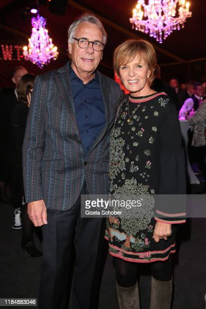 Ulrike Kriener and her husband Georg Weber at the celebration party of Radio Gong 963 at Teatro Schuhbeck on November 26 2019 in Munich Germany For...