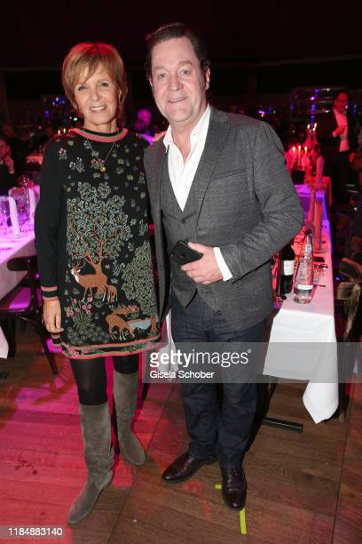 Ulrike Kriener and Juergen Tonkel at the celebration party of Radio Gong 963 at Teatro Schuhbeck on November 26 2019 in Munich Germany For the third...