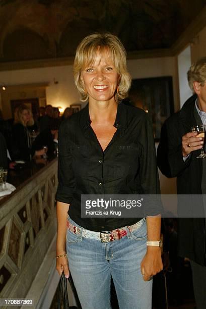Ulrike Kriener Beim Bavaria Filmempfang Im Künstlerhaus Beim Münchener Filmfest