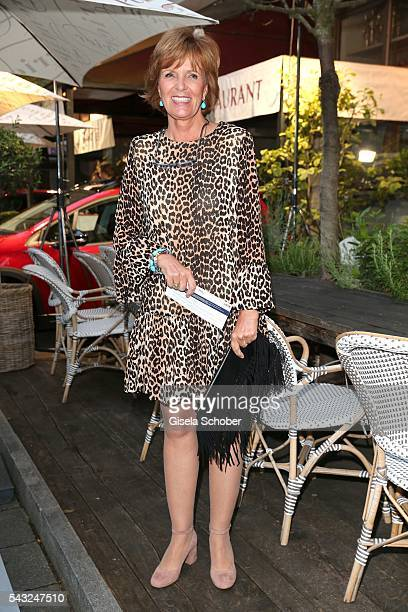 Ulrike Kriener during the Peugeot BVC Casting Night during the Munich Film Festival 2016 at Kaeferschaenke on June 26 2016 in Munich Germany