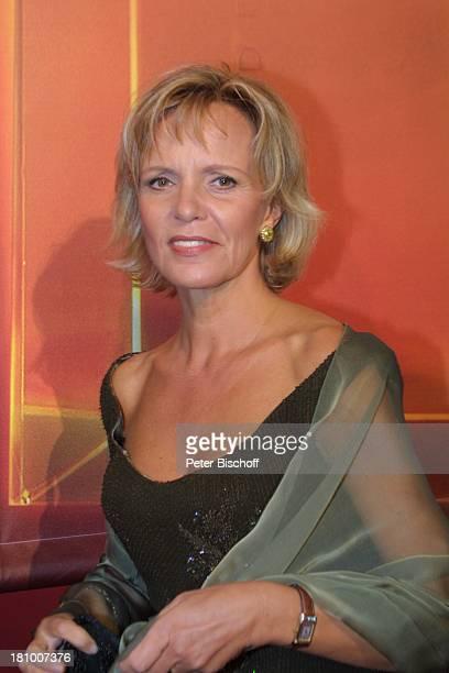 Ulrike Kriener Gala zur Verleihung Deutscher Fernsehpreis 2003 Köln Coloneum Foyer Ankunft Promis Prominenter Prominente