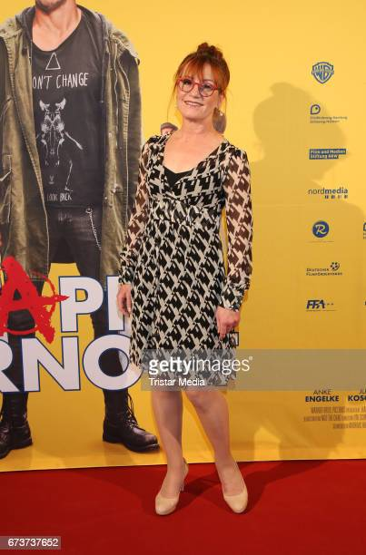 Ulrike Krumbiegel attends the 'Happy Burnout' Premiere at Cinemaxx on April 26 2017 in Hamburg Germany