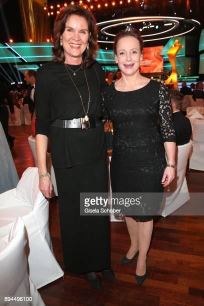 Ulrike NasseMeyfarth and horsewoman Isabell Werth during the 'Sportler des Jahres 2017' Gala at Kurhaus BadenBaden on December 17 2017 in BadenBaden...