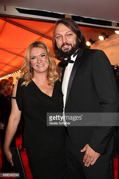 Ulrike Zeitlinger Haake and her husband during the Bambi Awards 2014 on November 13 2014 in Berlin Germany