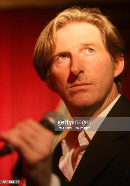Ulster actor Adrian Dunbar in McHugh's bar in Belfast where he performed with his band the Jonahs as part of the Cathedral Quarter Belfast Eighth...