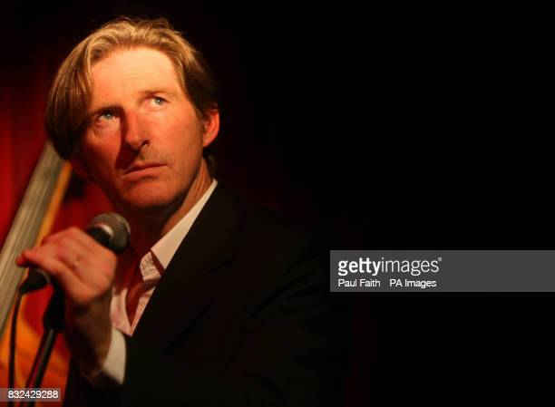 Ulster actor Adrian Dunbar performs with his band the Jonahs in McHugh's bar in Belfast as part of the Cathedral Quarter Belfast Eighth Open House...