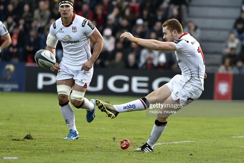 RUGBYU-EUR-CUP-TOULOUSE-ULSTER : News Photo