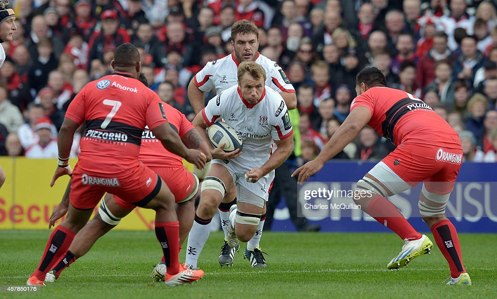 Ulster Rugby v RC Toulon - European Rugby Champions Cup : News Photo
