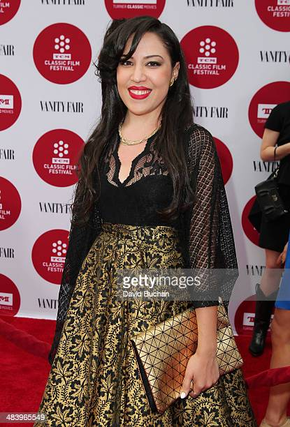 Ultimate Fan contest winner Tiffany Vazquez attends TCM Classic Film Festival opening night gala of 'Oklahoma' at TCL Chinese Theatre IMAX on April...