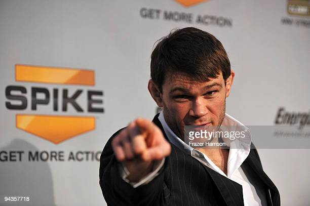 Ultimate Fighter Forrest Griffin arrives at Spike TV's 7th Annual Video Game Awards at the Nokia Event Deck at LA Live on December 12, 2009 in Los...