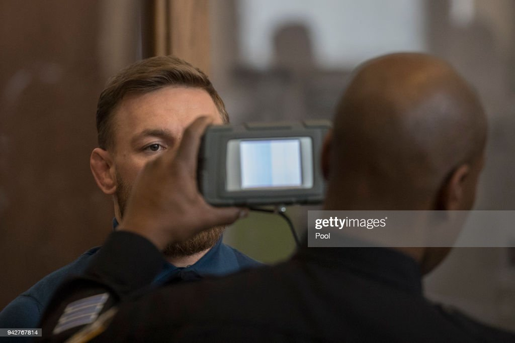 Conor McGregor Is Arrainged In Brooklyn Criminal Court : News Photo