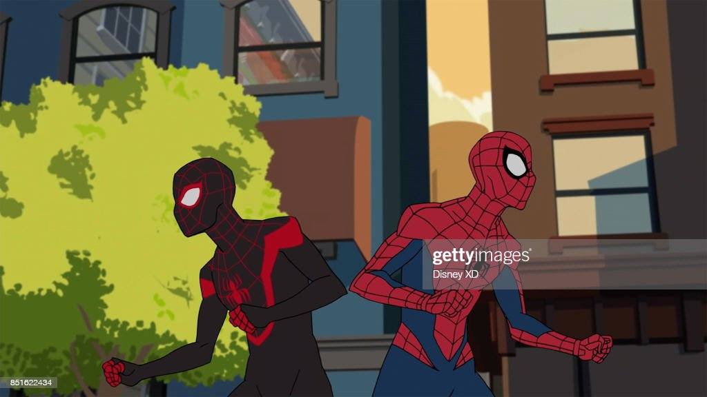 Man Ultimate Spider Man When Miles Morales Is Bitten By An