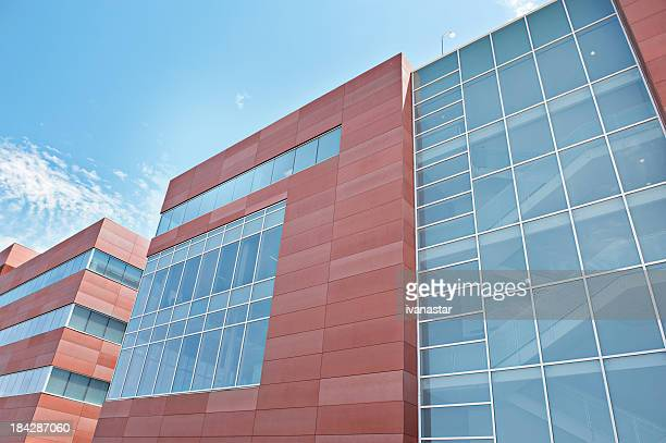 ultra modern hospital and research facility - medical building stock pictures, royalty-free photos & images