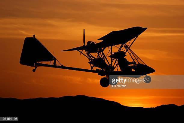 aereo ultraleggero - aereo ultraleggero foto e immagini stock