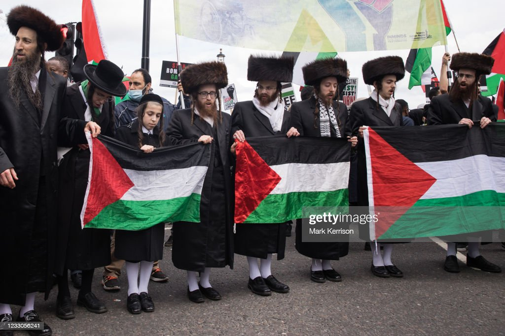 National Demonstration For Palestine London : Nachrichtenfoto
