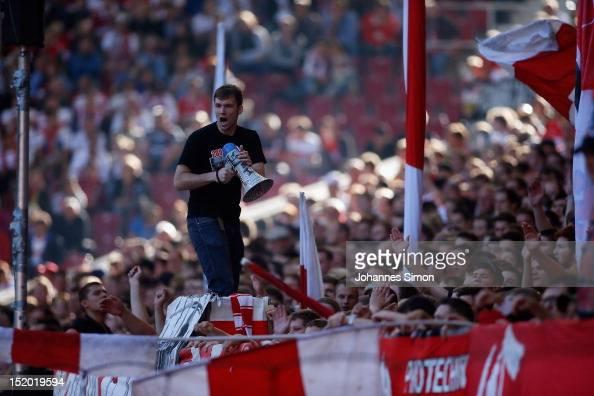new style ef720 fc697 Ultras of Stuttgart react during the Bundesliga match ...