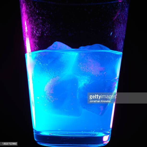ultraviolet light on drink - water stock pictures, royalty-free photos & images