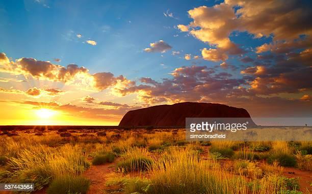 Uluru At Dawn