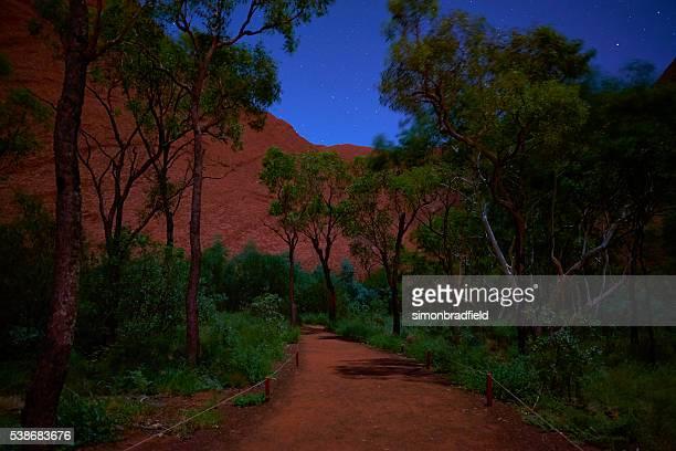 Uluru At Night