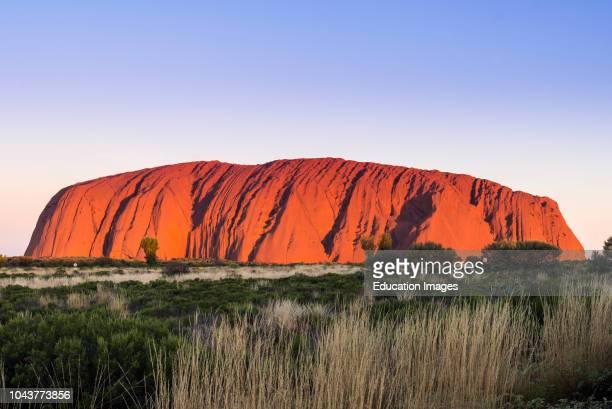 Uluru Ayers Rock UluruKata Tjuta National Park UNESCO World Heritage Site Northern Territory Australia