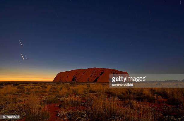 Uluru In The Moonlight