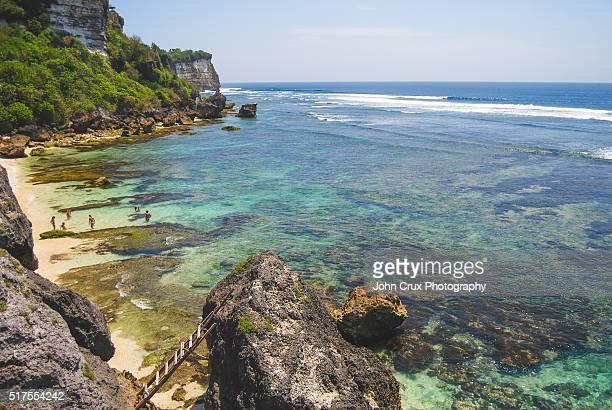 Uluwatu beach in Bali