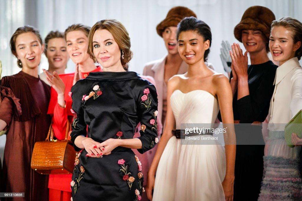 FRA: Ulyana Sergeenko : Front Row - Paris Fashion Week - Haute Couture Fall Winter 2018/2019