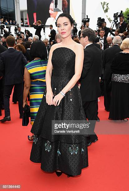 Ulyana Sergeenko attends 'The BFG ' premiere during the 69th annual Cannes Film Festival at the Palais des Festivals on May 14 2016 in Cannes France