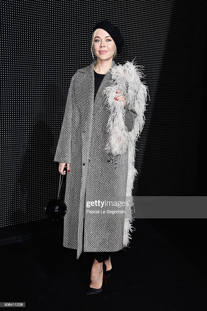 Dior Homme : Front Row - Paris Fashion Week - Menswear F/W 2016-2017