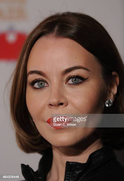 Ulyana Sergeenko attends The World's First Fabulous Fund Fair in aid of The Naked Heart Foundation at The Roundhouse on February 24 2015 in London...
