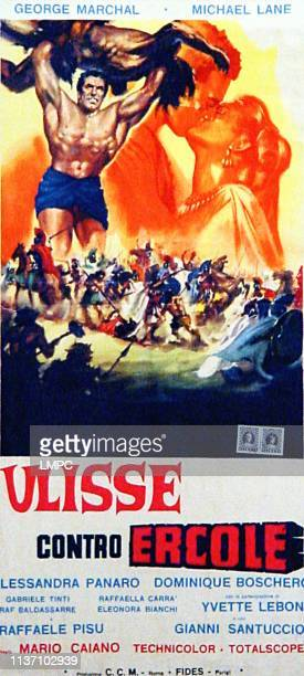 Ulysses Against The Son Of Hercules aka Ulisse Contro Ercole Ulysse Contre #10hercule Ulysses Aga poster Michael Lane Georges Marchal Alessandra...