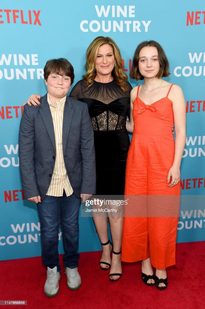 """Wine Country"" World Premiere : News Photo"