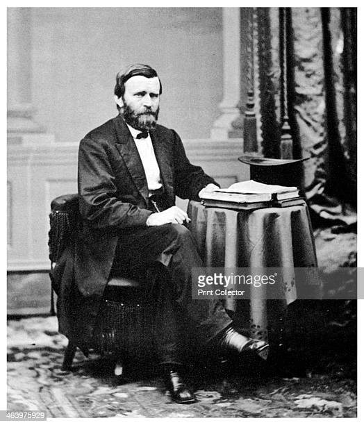 Ulysses S Grant 18th President of the United States c1869 Ulysses Simpson Grant commanded the Union army in the American Civil War from March 1864...