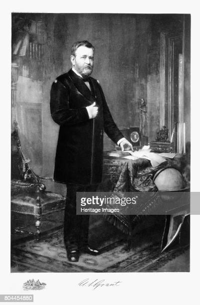Ulysses S Grant, 18th President of the United States of America, . Ulysses Simpson Grant commanded the Union army in the American Civil War from...