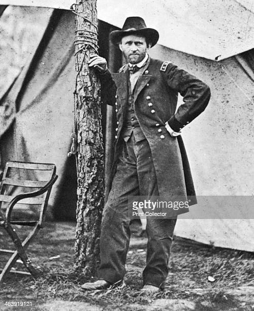 Ulysses S Grant American soldier and statesman c1860s Ulysses Simpson Grant commanded the Union army in the American Civil War from March 1864...