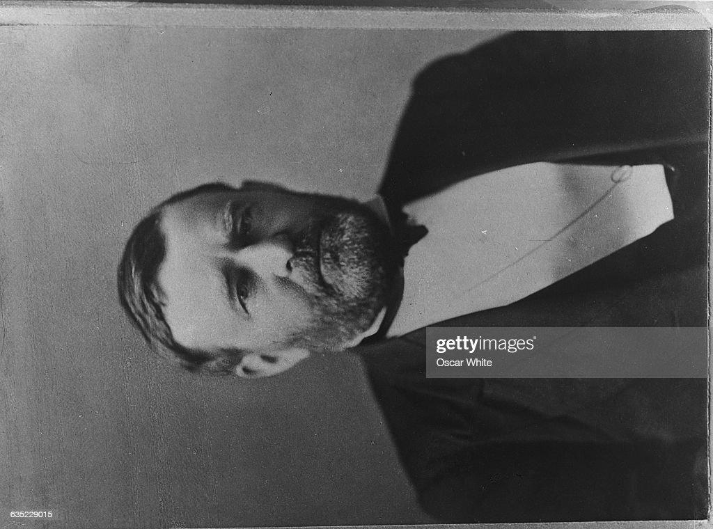 Portrait of President Ulysses S. Grant : News Photo