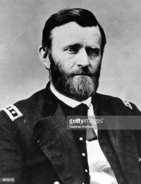 Ulysses S Grant eighteenth President of the United States serving from 1869 to 1877