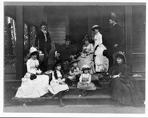 Ulysses S Grant With Family