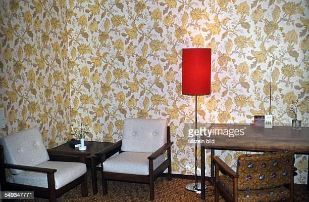 CH um 1973 Hotelzimmer