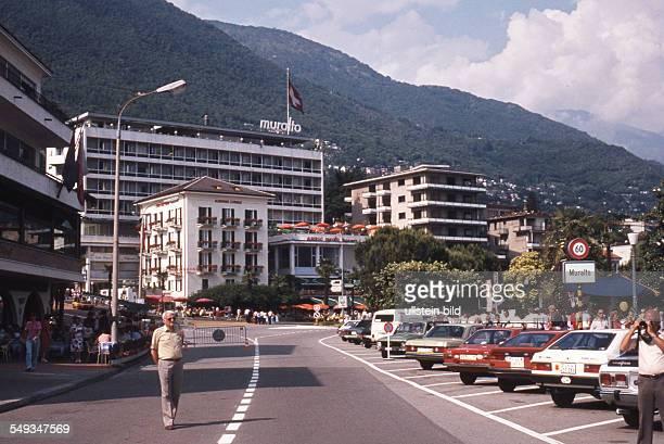 CH um 1981 Tessin Locarno am Lago Maggiore