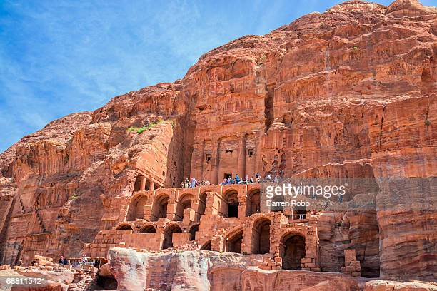 Um Tomb, Royal Tombs, Petra, Jordan
