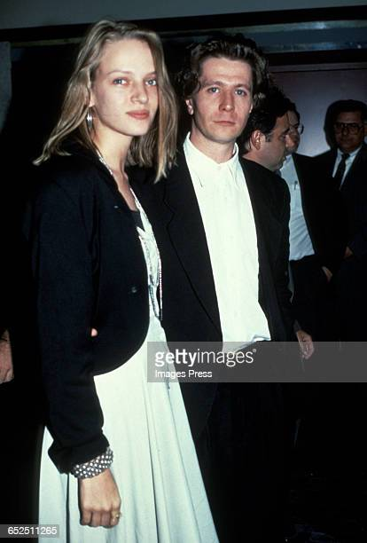 Uma Thurman and Gary Oldman circa 1990 in New York City