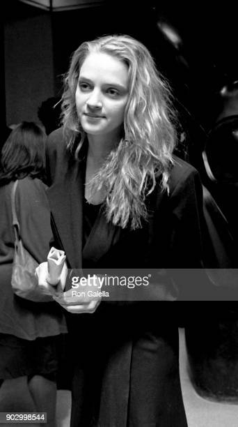 Uma Thurman attends 'Dangerous Liaisons' Premiere on December 19 1988 at the Museum of Modern Art in New York City