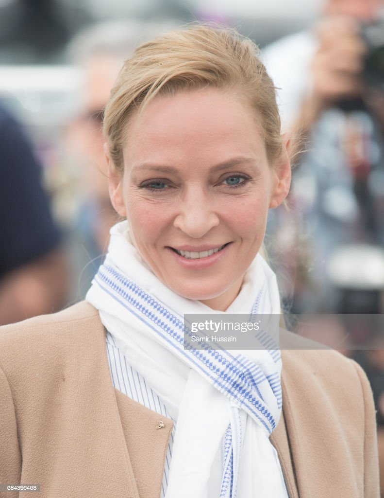 Uma Thurman attends Jury Un Certain Regard Photocall during the 70th annual Cannes Film Festival at Palais des Festivals on May 18, 2017 in Cannes, France.