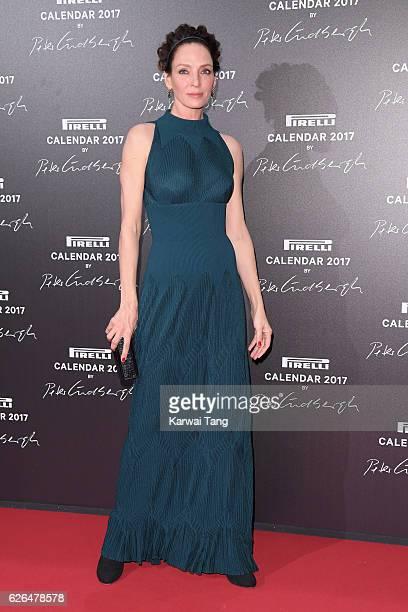 Uma Thurman attends the 2017 Pirelli Calendar Gala Dinner at La Cite Du Cinema on November 29 2016 in SaintDenis France