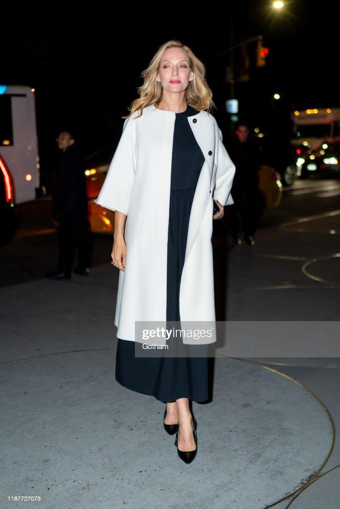 Celebrity Sightings In New York City - November 14, 2019 : News Photo