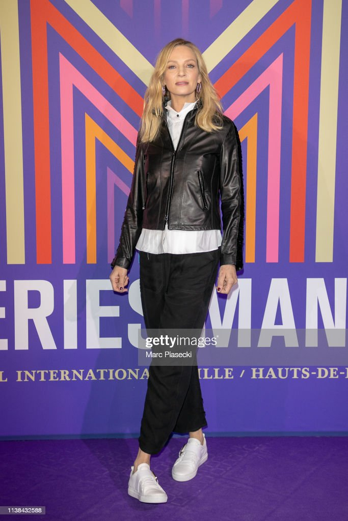 FRA: Uma Thurman Master Class : 2nd Series Mania Festival In Lille