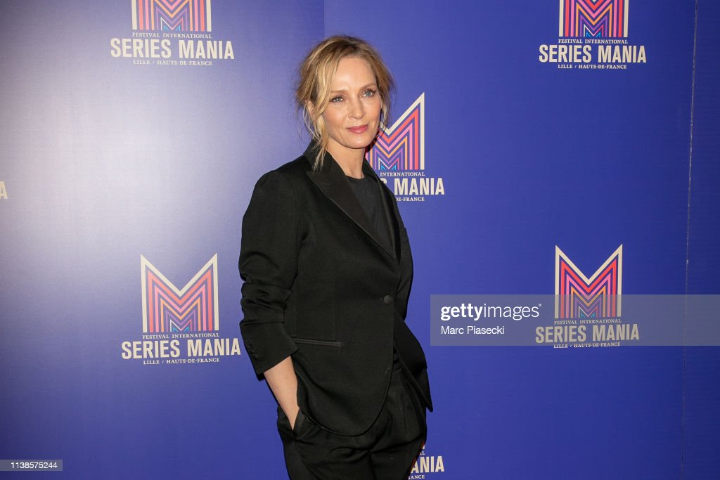 Uma Thurman Master Class : 2nd Series Mania Festival In Lille : News Photo